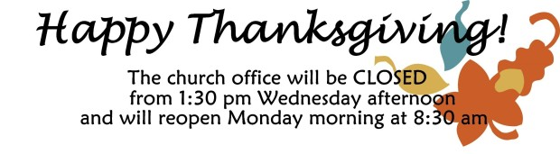 office closed thanksgiving