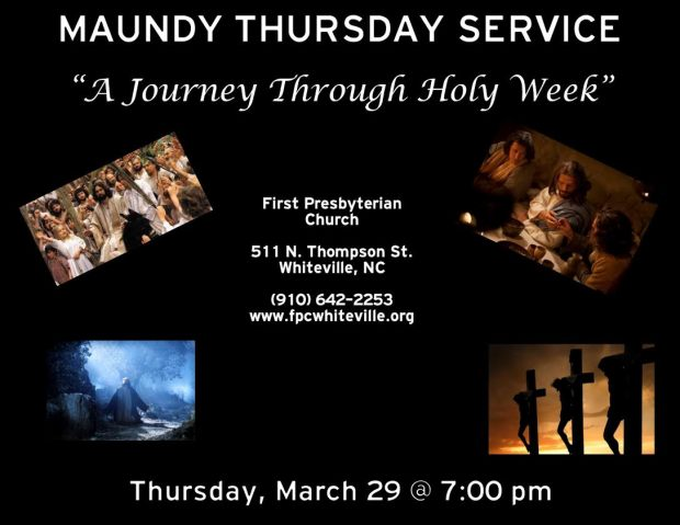 Lent 2018 Maundy Thursday