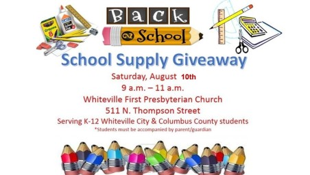 School Supply Giveaway 2019