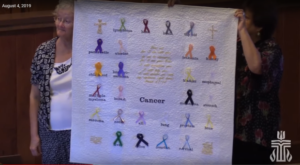 Cancer Quilt Dedication