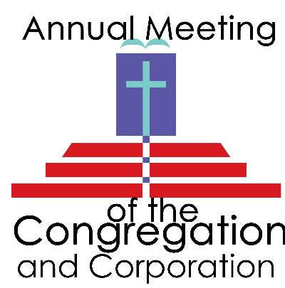 annual meeting of the congregation and corperation